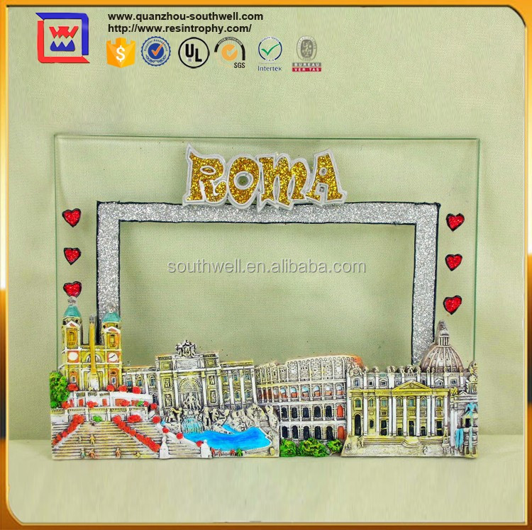 Roma Theme Acrylic Photo Frame For Sale