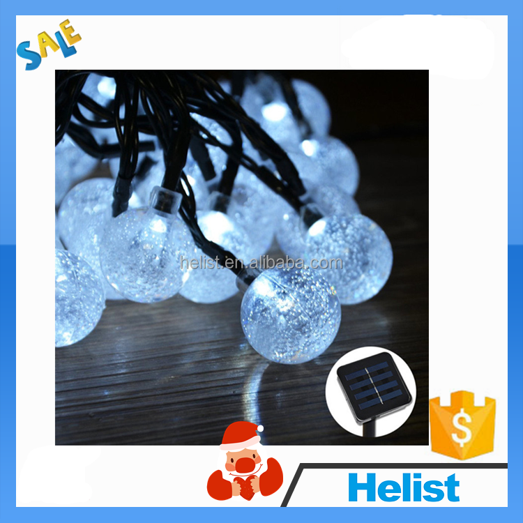 High quality waterproof christmas yard decorative led solar string christmas fairy lights