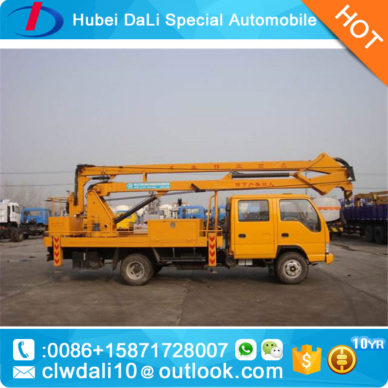 telescopic aerial working vehicle high altitude operation truck