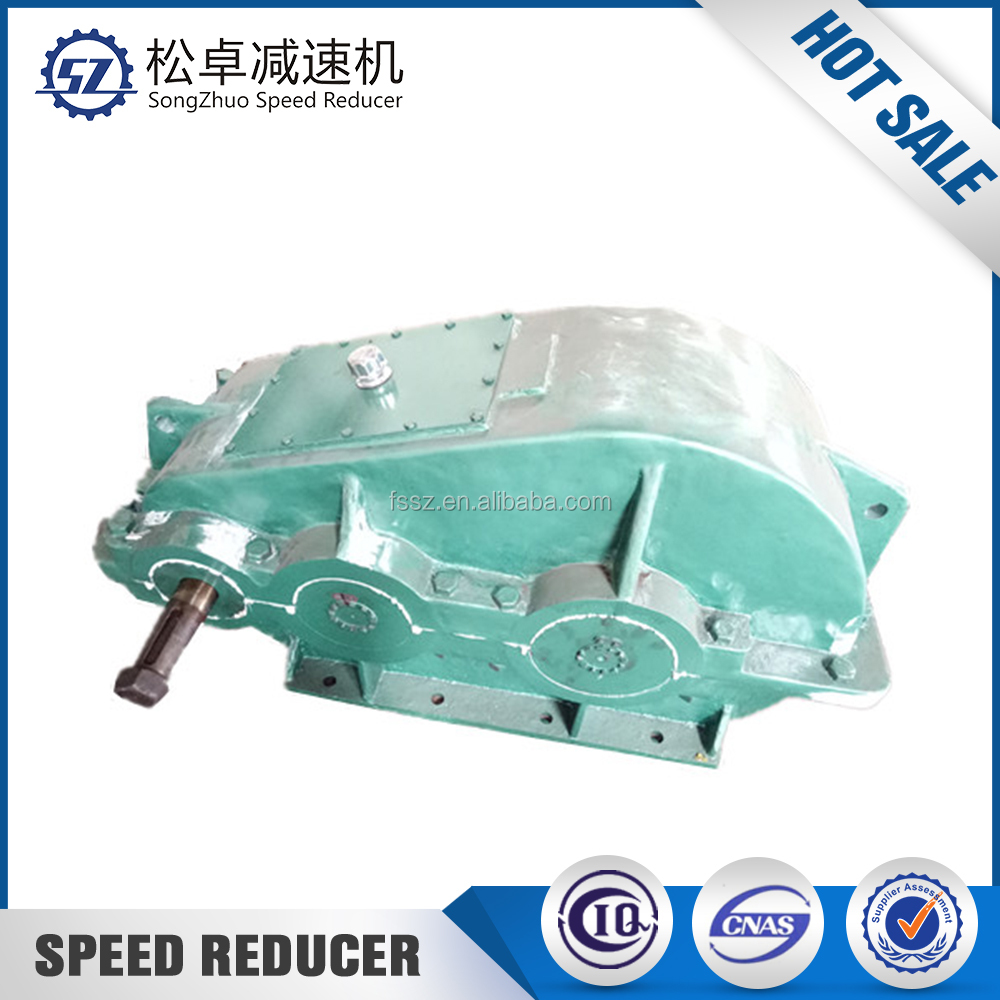 Gearbox speed reducer for lime vertical preheater