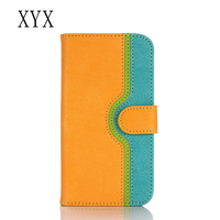 Customized logo low price china mobile phone accessory pu leather flip cover case for lg nexus 5