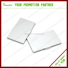 Aluminum Visiting Card Holder, MOQ 100 PCS 0706045 One Year Quality Warranty