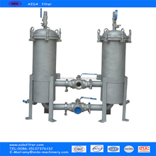 High Quality duplex Stainless Bag Filter Housing water filter housing