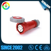 Hotselling 125 amp Industrial Aluminium Industrial Plug & Socket with CE CCC CB TUV GS Certification