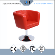 DM-819 Cheap popular used round high barber chair wood table