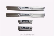Car accessories front door sill plate with LED for Pulsar new design OEM ODM