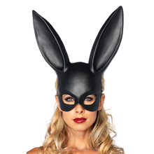 eco-friendly halloween plastic bunny ear mask rabbit mask many color