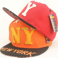 QQBC161 Fashion letter NY embroidered baseabll cap Kids snapback hat