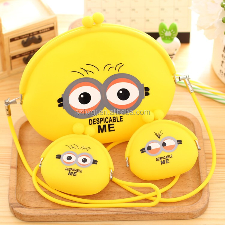 2017 Hot Selling Colorful Bulk Wholesale Silicone Coin Purse
