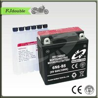 Good quality 12v 24ah lead acid battery 6N6-BS motorcycle electric