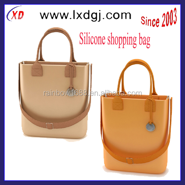 2014 Silicone Transparent Tote Jelly silicone Bags For Women