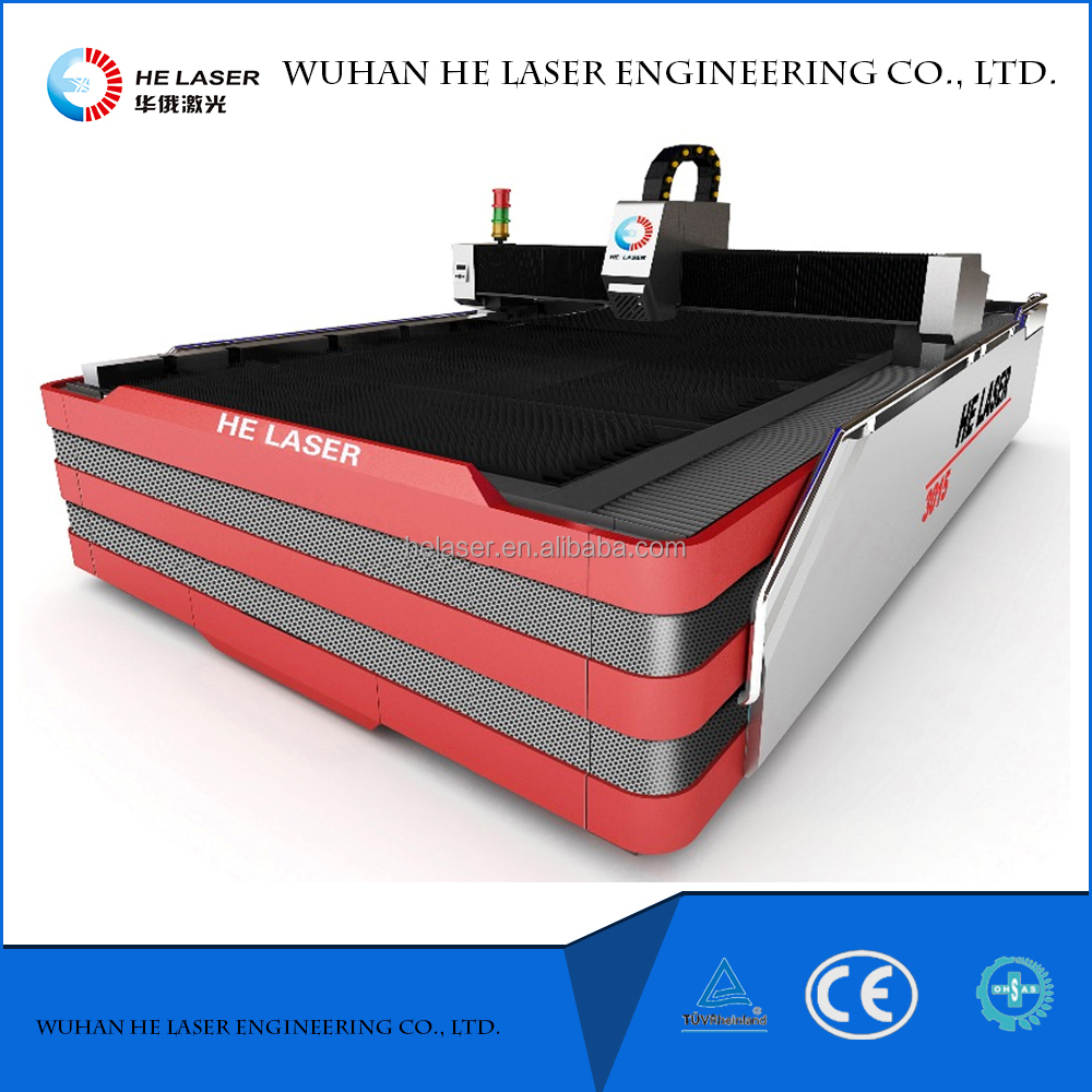 CNC Router Metal Laser Cutting Machine 500W 1000W 3000mm*1500mm