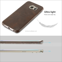 Mobile Phone Leather Case For Samsung Galaxy S6 Edge Case, For Samsung Galaxy cover