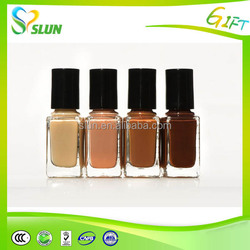 Popular lady accessories 8ml nail polish oem, matte nail polish
