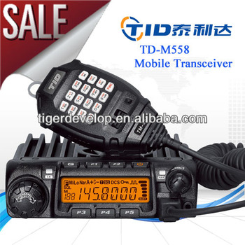 TID TD-M558 uhf vhf vehicle high quality Amateur Mobile Transceiver