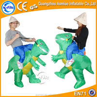 Adult walking dinosaur mascot costume/inflatable moving cartoon