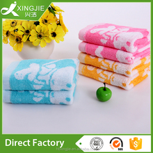 professional custom 100% cotton hand towel tablets for kids