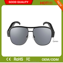 Sunglasses with Camera HD 1080P Video Recorder Spy Camera Glasses support 32GB SD removable Glasses frame spy camera