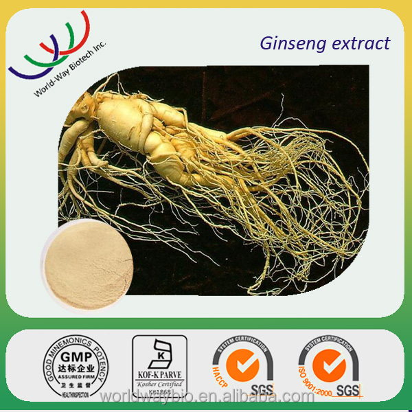 Ginseng root extract Ginsenosides free samples, natural 10% HPLC Ginsenosides ginseng root extract