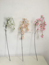 Romantic Artificial Branches of Cherry Blossom Silk Flowers Home Wedding Decoration Flower