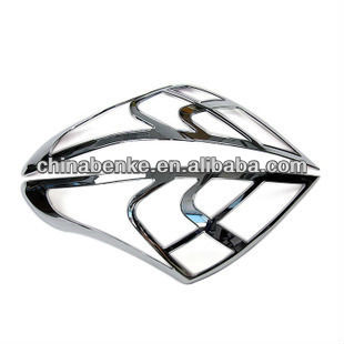 TAIL LAMP COVER PLASTIC CHROME REAR LAMP COVER FOR NISSAN SUNNY ALMERA CAR ACCESSORIES