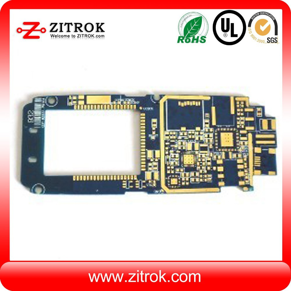 low price for Teflon High Frequency PCB Board Manufacture Rogers 4350 PCB Board