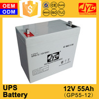 wholesale 55ah 12v ups battery prices of best