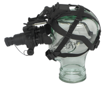 helmet mounted night vision goggle with different lens