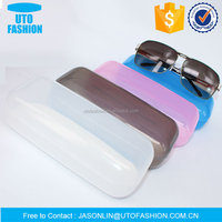 YT8009 standard cuboid candy colored shaped plastic durable sunglasses case