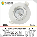 Ra92 CCT 2000-2800k Cutout83mm Norge GYRO downlight actec driver