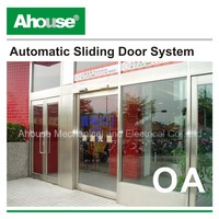 Automatic Sliding Glass Door with Infrared Sensor /sliding door opener