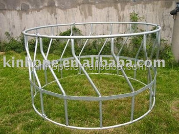 Good Quality Galvanized Round Bale Feeder for sheep (sheep feeder)