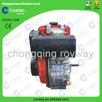 Widely Used Air Cooled Recoil/Electric Start Single Cylinder 4-Stroke Diesel Engine 30HP