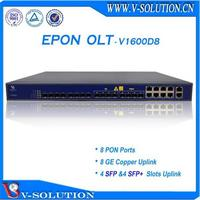 8PON GEPON OLT Optical Access Terminal Equipment Support L3 Route Function with Cisco Style CLI Management Made in China