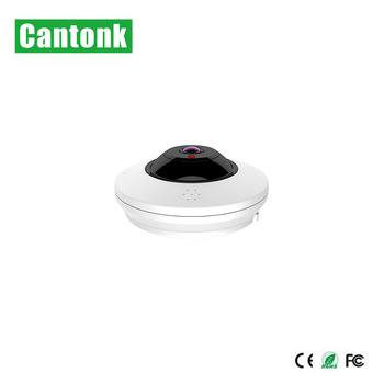 Cantonk Small Size 500g 360 Vr Camera With Six Preview Modes Wifi POE functions