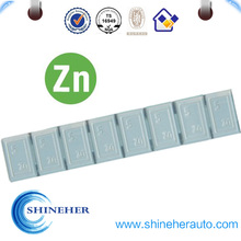 Manufactured in China Zn fan balancing weights for car
