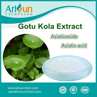 Factory Supply Best Sale Powder Gotu Kola Leaf Extract 40%