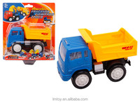 kids play Friction Push Power Toy Trucks