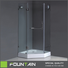 Factory Tempered Fashional Glass Steam Shower Room