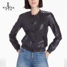 Leather jacket motorcycle,leather biker jacket guangzhou