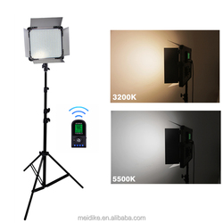 led continuous light photography, square led panel light 3200K-5500k for tv studio equipment