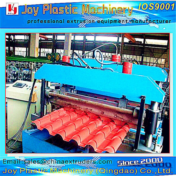 pvc pc Trapezoidal roof production line