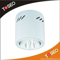 vertical E27 energy saving wall recessed round lighting