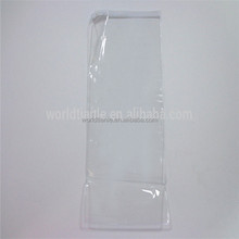 PVC Material Slider Pouch, Large Size Clear PVC Slider Zip bag