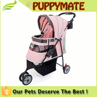 Wholesale cheap dog strollers pet travel trolleys