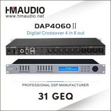 DAP4060II Digital Sound Processor 4 in 6 out with 96KHz sampling frequency