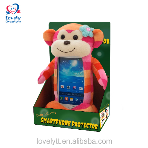 "8"" Mobile Case Phone Cover In Monkey Pattern For Smart Phone For Kids Educational Toys"
