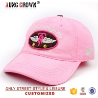 Mesh elastic fitted oem decoration baseball cap