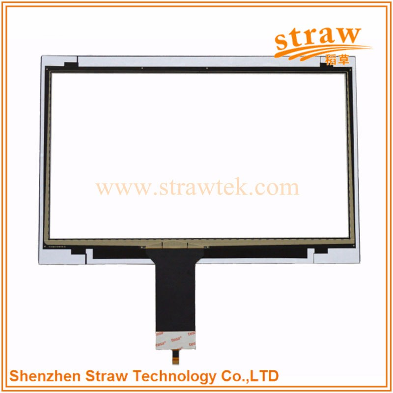 Durable Monitor Apply 17 inch Industrial Digitizer Touch Screen Panel PC Linux