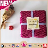 China alibaba! chenille fabric/ cotton fabric, home textile plush baby blanket fabric, luxury yarn dyed cable knit blanket.